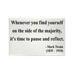 Mark Twain 11 Rectangle Magnet (10 pack)