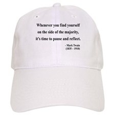 Mark Twain 11 Baseball Cap