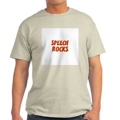 Speech~Rocks Light T-Shirt