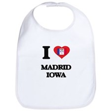 I love Madrid Iowa Bib