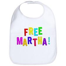 Free Martha! Bib