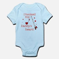 I Hooked Daddy's Heart Body Suit