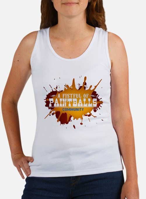A Fistful of Paintballs Women's Tank Top