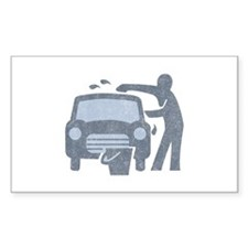 Carwash Rectangle Decal