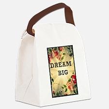 Dream Big Canvas Lunch Bag