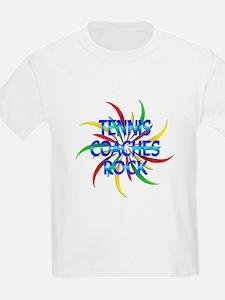 Tennis Coaches Rock T-Shirt