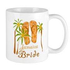 Tropical Jamaica Bride Mug