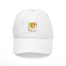 Tropical Jamaica Bride Baseball Cap
