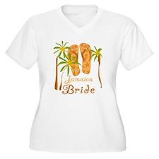 Tropical Jamaica Bride T-Shirt