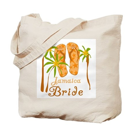 Tropical Jamaica Bride Tote Bag