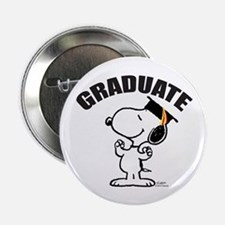 "Snoopy Graduate 2.25"" Button"
