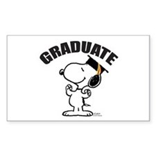 Snoopy Graduate Decal