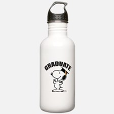 Snoopy Graduate Water Bottle