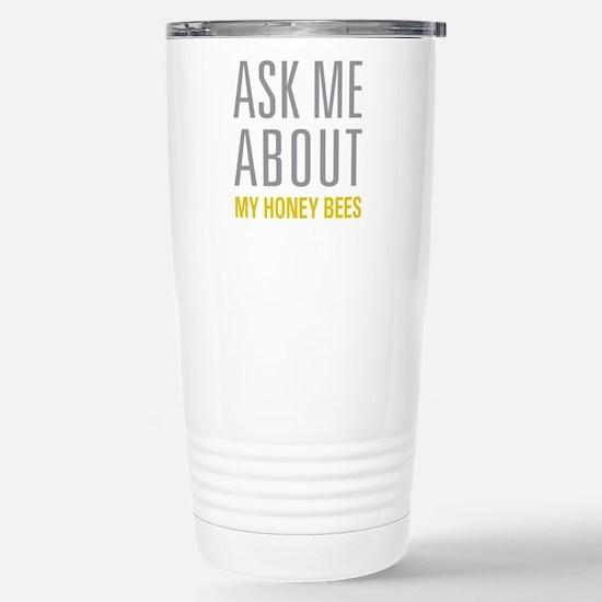 My Honey Bees Stainless Steel Travel Mug