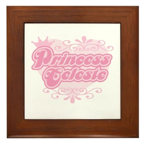"""Princess Celeste"" Framed Tile"