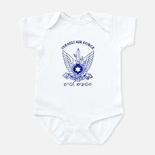Israel Air Force Blue Infant Bodysuit
