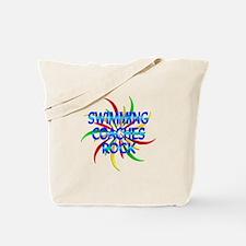 Swimming Coaches Rock Tote Bag