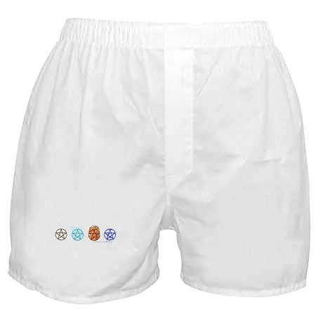 E-A-F-W (Pagan/Wiccan Boxer Shorts