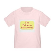 princess has arrived T