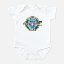 Highway Patrol Infant Bodysuit