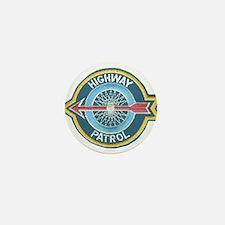 Highway Patrol Mini Button