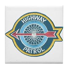Highway Patrol Tile Coaster