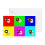 Bagels Greeting Cards (Pk of 10)