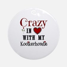 Kooikerhondje Ornament (Round)