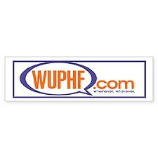 WUPHF.com sticker (Bumper)