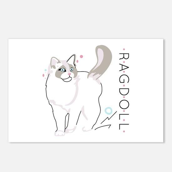 Ragdoll cat Postcards (Package of 8)