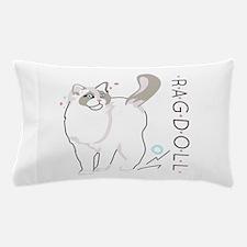Ragdoll cat Pillow Case