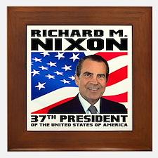 37 Nixon Framed Tile