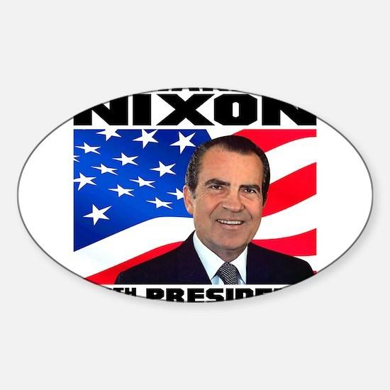 37 Nixon Sticker (Oval)
