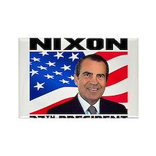 37 Nixon Rectangle Magnet