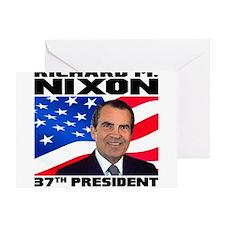 37 Nixon Greeting Card