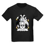 Lawton Family Crest Kids Dark T-Shirt