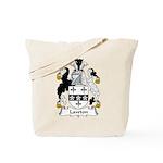 Lawton Family Crest Tote Bag