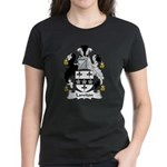 Lawton Family Crest Women's Dark T-Shirt