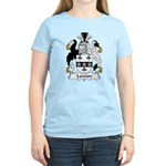 Lawton Family Crest Women's Light T-Shirt