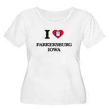 I love Parkersburg Iowa Plus Size T-Shirt