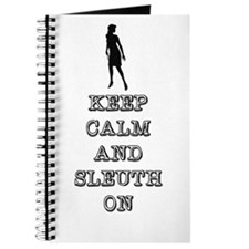 Keep Calm Nancy Drew Journal