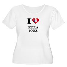I love Pella Iowa Plus Size T-Shirt