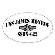 USS JAMES MONROE Decal