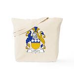 Latham Family Crest Tote Bag