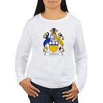 Latham Family Crest  Women's Long Sleeve T-Shirt