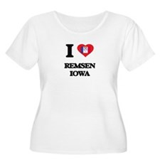 I love Remsen Iowa Plus Size T-Shirt