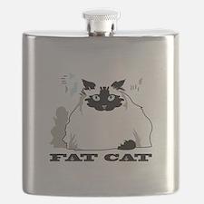 Himalayan fat cat Flask