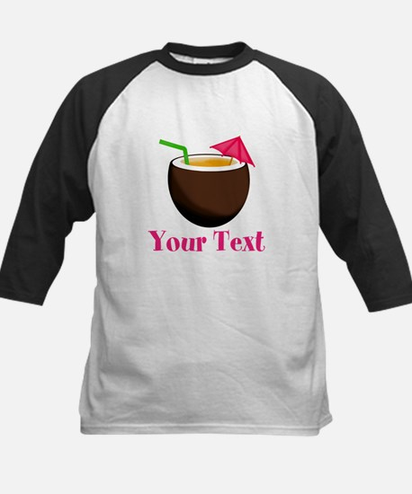Personalizable Tropical Coconut Drink Baseball Jer