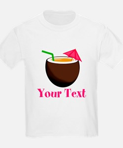 Personalizable Tropical Coconut Drink T-Shirt