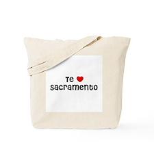 Te * Sacramento Tote Bag